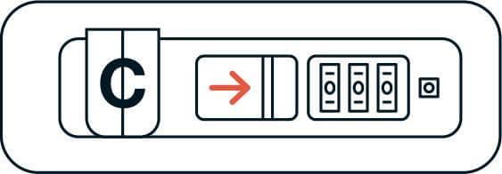 TSA Lock Instructions | CHESTER